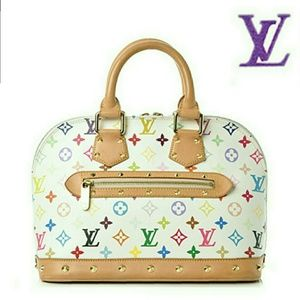 💕💜 Louis Vuitton Multicolored Alma 💜💕